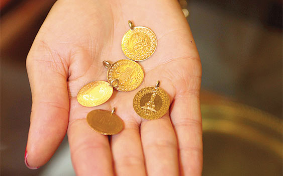 Çeyrek altın üretiminde rekor