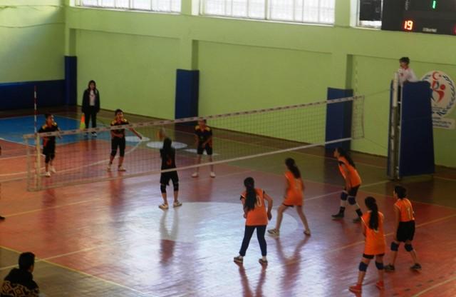 Okullararası voleybol turnuvası tamamlandı