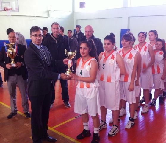 Okul Sporları Basketbol Grup Şampiyonası sona erdi