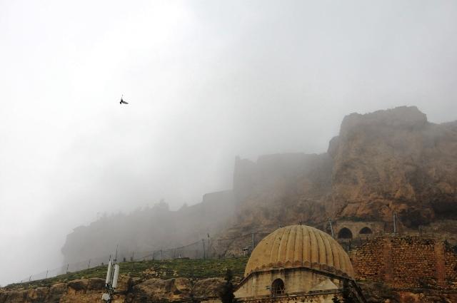 Sis, Mardin'de seyirlik manzara oluşturdu