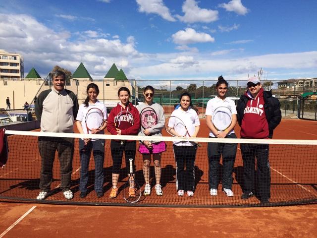Mardin Artuklu Üniversitesi ile Bilkent Üniversitesi Teniste buluştu