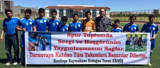 Kızıltepe'de kurumlar ve okullar arası spor turnuvası