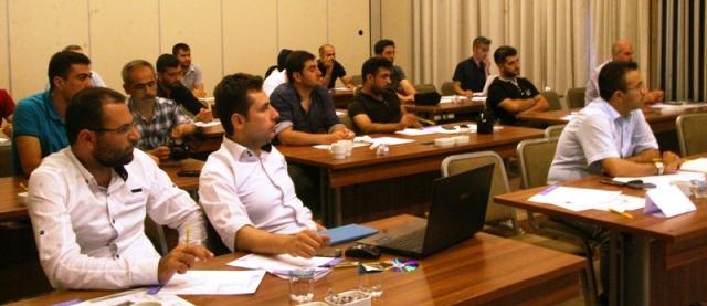 Gazetecilerin eğitim programı sona erdi