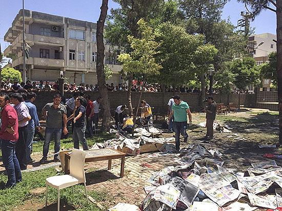 Şanlıurfada patlama: 27 kişi hayatını kaybetti, 100'e yakın yaralı var