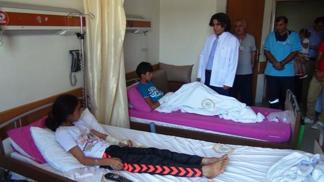 Ayhan ailesi Ankara'da tedavi edilecek