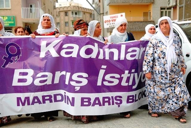 Kadınlar barış istiyor
