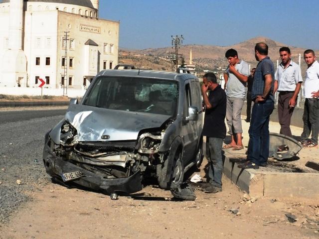 Trafik kazası: 1'i ağır 6 yaralı