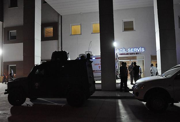 Nusaybin'de silahlı saldırı: 1 Şehit