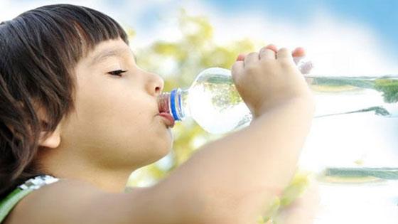 Mineral kaybına karşı bol bol su için