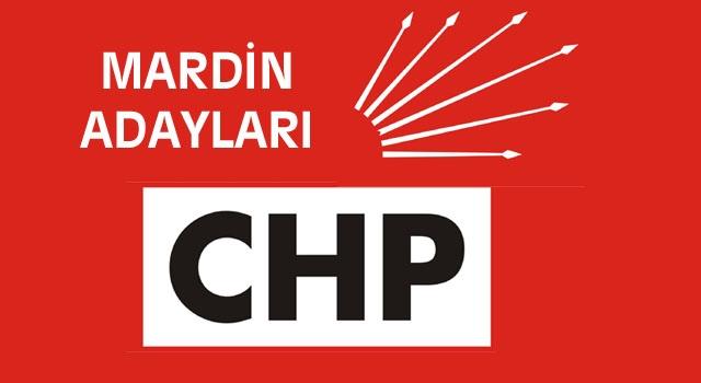 CHP Adayları da belli oldu