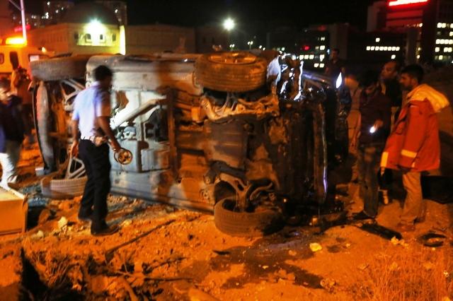 Mardin'de feci kaza: 4 ölü 3 yaralı