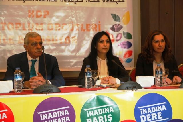 Yüksekdağ Mardin'de hükümete yüklendi