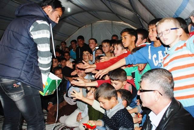 """Suriyelilerden """"milli birlik ve beraberlik"""" için mevlit"""