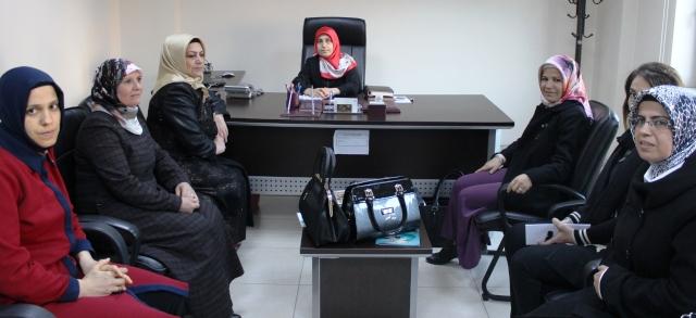 İl Müftü Yardımcısına kadınlardan destek ziyareti