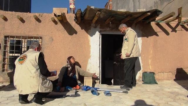 Kızıltepe'de Rahmet Gıda Bankasından yardım eli