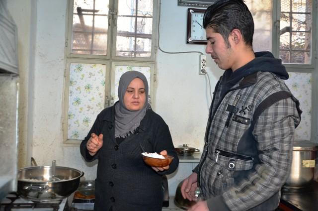Suriye'nin damak tatlarını Mardin'de yaşatıyorlar