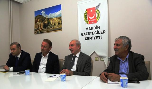 Miroğlu'ndan Gazeteciler Cemiyetine ziyaret