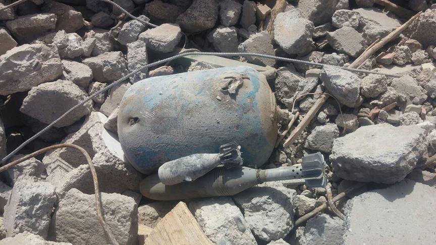 Nusaybin'de tuzaklanan patlayıcılar imha edildi