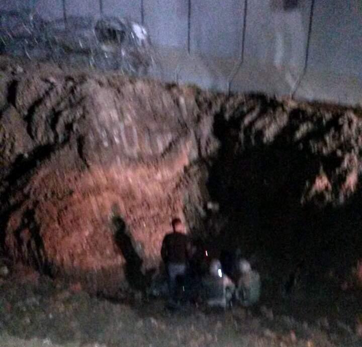 Nusaybin'de bulunan tünel kapatıldı