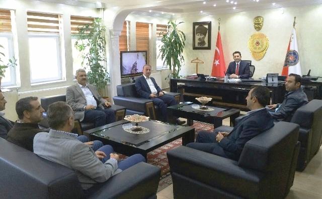 AK Parti'den Mardin Emniyet  Müdürlüğüne Ziyaret