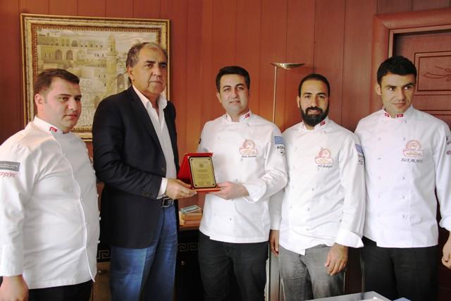 Yemek festivali için Başkan Irmak ile görüştüler