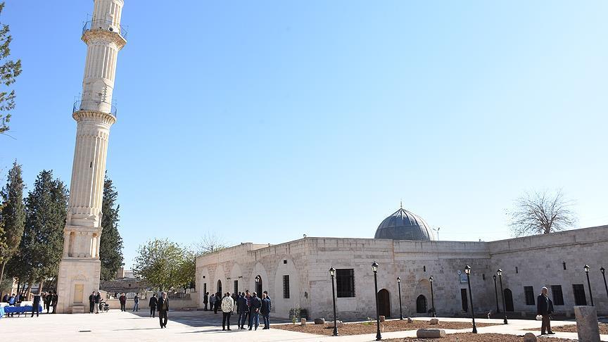 Nusaybin'deki Zeynel Abidin Camisi ibadete açıldı