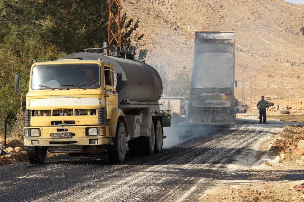 Artuklu'da 11 bin 5 kilometrelik yol asfaltlandı