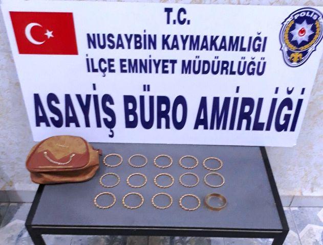 Nusaybin'de hırsızlık yaptıkları iddiasıyla 3 kişi tutuklandı