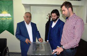 HÜDA PAR Nusaybin İlçe Başkanlığına Talayhan seçildi