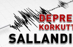 Deprem Mardin'de hissedildi