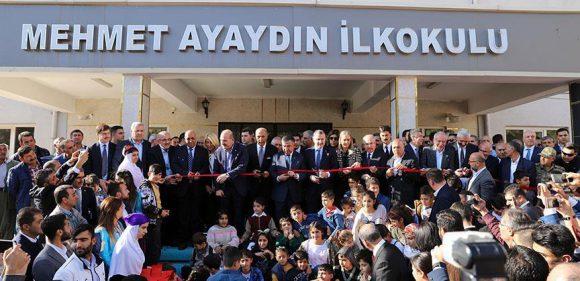 Mehmet Ayayadın ilkokulu açılışı yapıldı