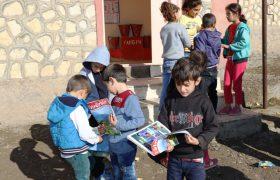 Derik'teki okullara ziyaret