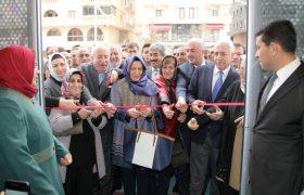 AK Parti Midyat İlçe Başkanlığı yeni binasına taşındı