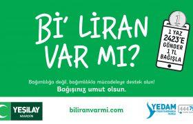 """Yeşilay'dan Bi'liran var mı"""" bağış kampanyalı çağrı"""