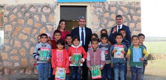 Savur kırsal mahalle okullarına ziyaret