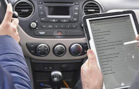 Ehliyet uygulama sınavlarında 'tablet' dönemi
