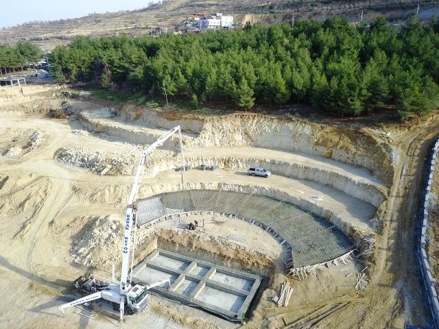 Kamor Parkı çalışmaları hızla ilerliyor