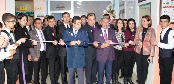 Midyat'ta kütüphane açılışı
