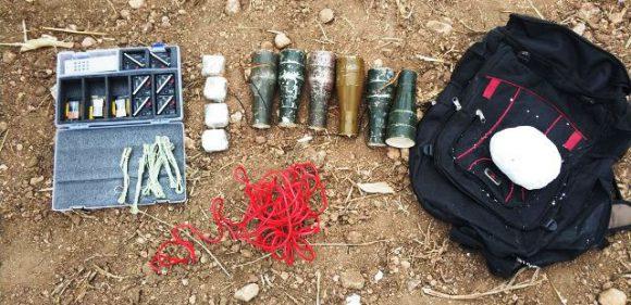Nusaybin ve Kızıltepe'de patlayıcı ve mühimmat ele geçirildi