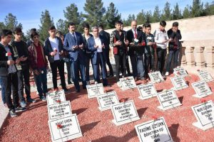 Çanakkale şehitleri Mardin'de anıldı