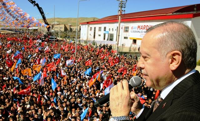 """Cumhurbaşkanı Erdoğan: """"Mardin Türkiye'nin aynasıdır"""""""