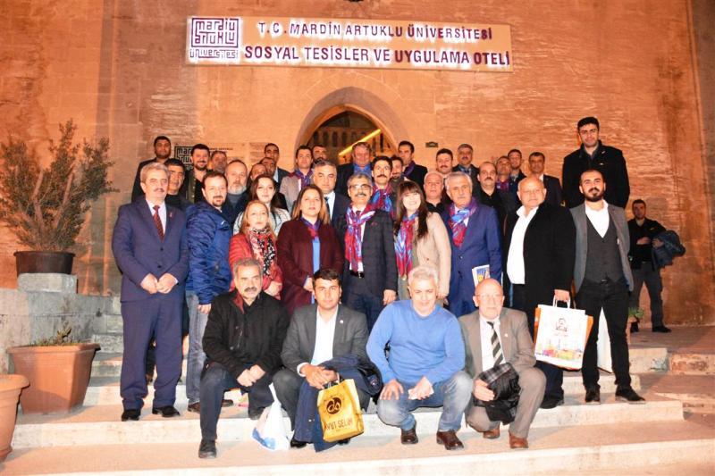Karadenizli gazeteciler Mardin'e hayran kaldı