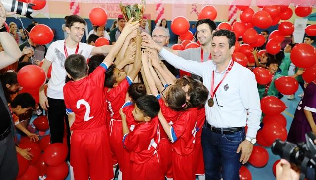 'Çocuk Oyunları Ligi sona erdi