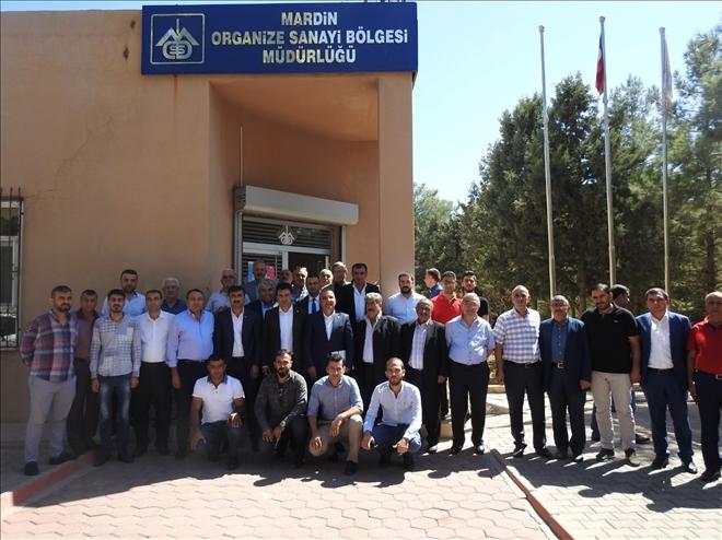 CHP Heyetinden Mardin OSB'ye ziyaret