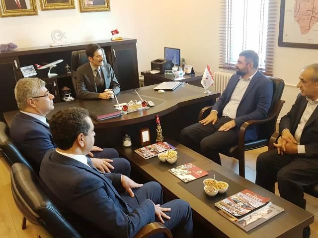 AK Parti'den Derik'e ziyaret