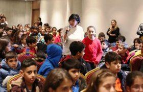 4. Movapark Kitap  günlerinde Esra Alkan  Çocuklarla Buluştu