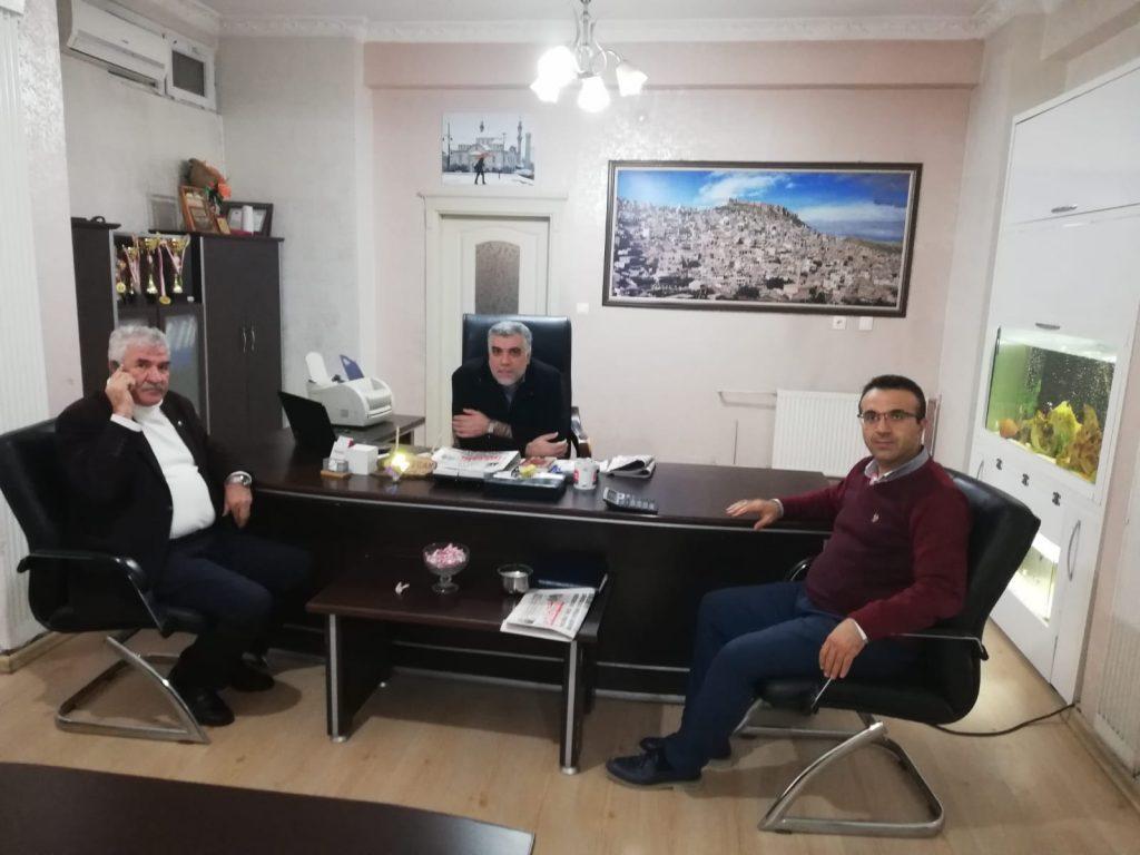 Günbegi'den gazetemize veda ziyareti