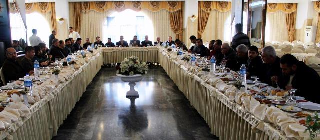 Ak Parti'den Çalışan Gazetecileri Günü buluşması