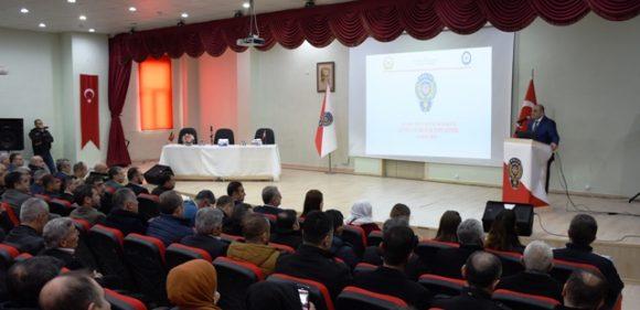 """Nusaybin'de """"Huzur  ve Güven"""" toplantısı"""