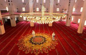 Mardin'deki camiler ibadete hazır